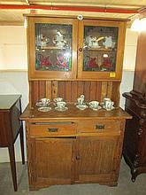 Oregon Pine Kitchen Dresser