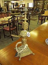 Brass Gilded Lamp