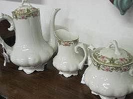 3 pc J.B.T & Cie Limoges Coffee Set