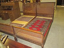 Pair Continental Single Bed Frames