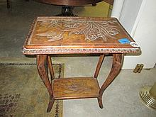 Late Victorian Satinwood Occasional Table