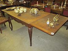 19thC French Drawleaf Table