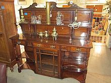 Edwardian Walnut Dresser