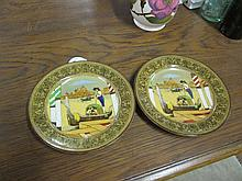 2 Royal Doulton Wall Plates