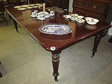 19thC Mahogany Extending Dining Table