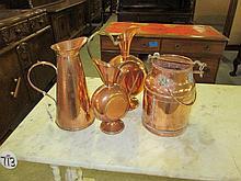 4 Copper Items