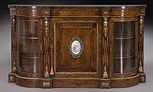 Victorian rosewood & thuya bronze mounted credenza
