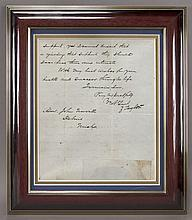 Zachary Taylor autograph letter signed