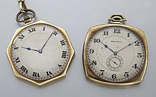 Two American Walthom pocket watches,