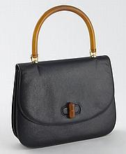 Gucci navy vintage clutch