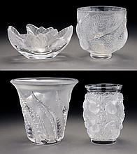 (4) Lalique France crystal items inclu.: