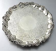 George III sterling Timothy Renou salver