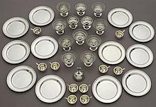 45 Pcs. American sterling silver items