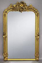 Large Continental giltwood mirror