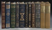 (9) Assorted signed Franklin first edition