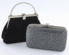 (2) Judith Leiber evening bags including:
