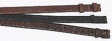 (3) Alligator skin belts including: