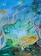 BOYD, David (1924-2011)  Fruit Children, Orchard & Cockatoos