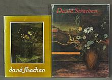 BOOK & Catalogue, 'David Strachan,'  edited by Lou Klepac. Pub. Beagle Pres