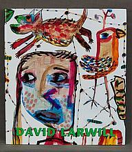 BOOK, 'David Larwill,' by Ken McGregor.  Pub. Craftsman House, 1997. Hand s