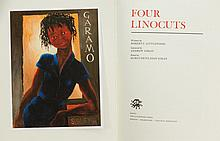 BOOK, 'Four Linocuts,' by Robert Littlewood.  Pub. The Lytlewode Press 2014