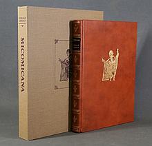 BOOK, 'Micomicana,' by Norman Lindsay.  Pub. Melb. Univ. Press, 1979. Ltd.