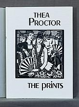 BOOK, 'Thea Proctor, The Prints.'  Pub. Resolution Press 1980.