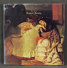 BOOK, 'The Art of Rupert Bunny,' Mary Eagle.  Pub. ANG, 1991.