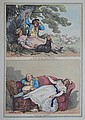 ROWLANDSON, Thomas (British 1756-1827) 'Nap in the