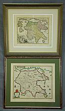 MAPS (2), Various Early Maps of Greece.  Morea ol