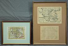 MAPS (2), Various Early Maps of Greece.  Tabula E