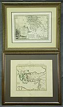 MAPS (2),  Various Early Mediterranian Maps.  La