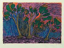 PIKE, Jimmy (1940-2002) Trees & Sky
