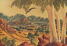 LANDARA, Benjamin (1921-1985) Central Australian L