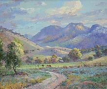 KUSTER, Otto (b.1941) 'The Bucketts Range, Glouces
