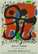 MIRO, Joan (Spanish 1893-1983) 'Le Lezard aux Plum