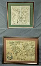 MAPS (2), Various Mediterranian Maps.  Greece Arc