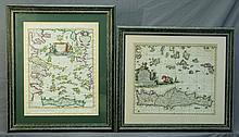 MAPS (2), Various Early Mediterranian Maps.  Arci