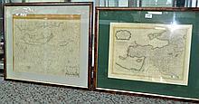 MAPS (2), Various Early Mediterranian Maps.  Isla