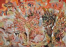 FRIEND, Donald (1915-1989) 'Landscape Guardians,