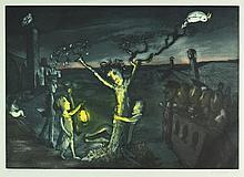 SHEAD, Garry (b.1942) 'The Darkening Ecliptic'