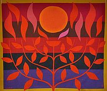 COBURN, John (1925-2006) 'Tree of Life'. Label