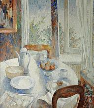 APPLETON, Jean (1911-2003) 'After Breakfast,