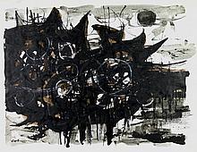 COBURN, John (1925-2006) Drought, 1962. Mixed