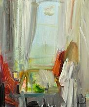 PROUD, Geoffrey (b.1946) Interior with Girl at