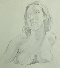 LINDSAY, Norman (1879-1969) 'Heather,' circa 1941.