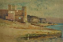 ASHTON, Julian Rossi (1851-1942) Fort Macquarie,