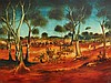 HART, Pro (1928-2006) 'The Picnic,' 1968. Oil on