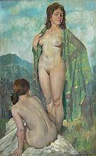 KINGSLEY, Garrett (1915-1982) The Green Silk