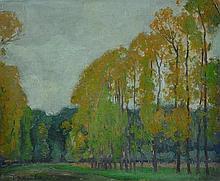 FOX, Emanuel Phillips (1865-1915) Avenue of Trees,